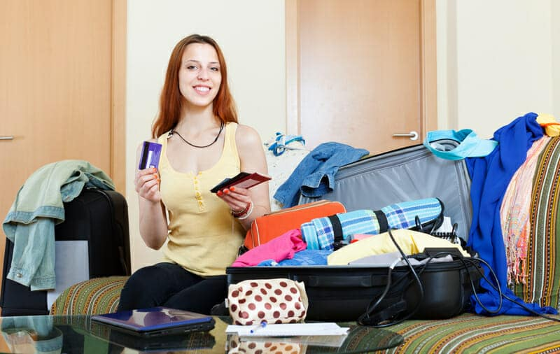 dreamstime s Girl Packing travel tips