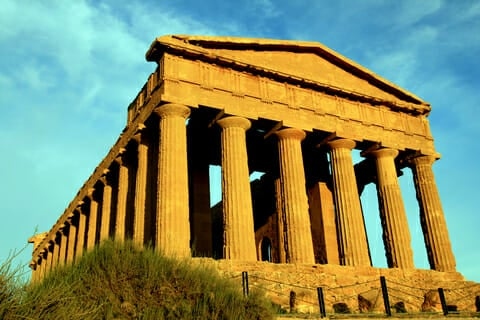 concordia greek temple agrigento