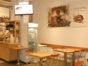 frying station - Eataly Rome