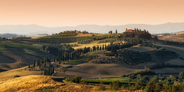 Honeymoon in Italy - Val d'Orcia