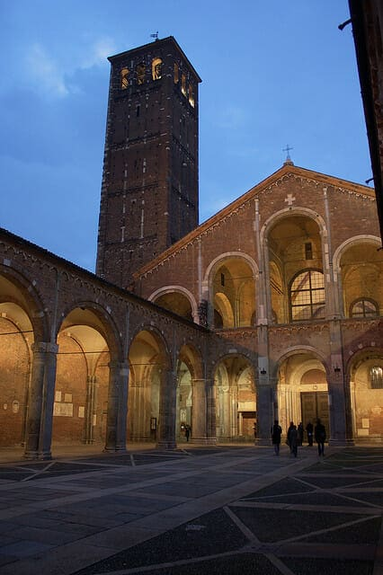 Basilica of SantAmbrogio