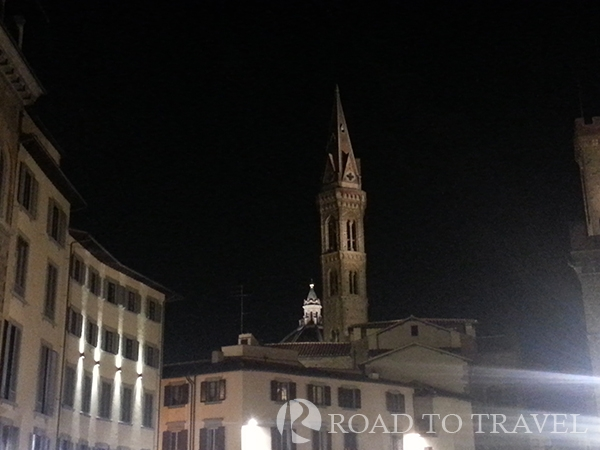 Badia Fiorentina View of the bell of the Badia Fiorentina from piazza Santa Croce.