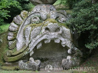 Orcus - Bomarzo The Orcus is one of the main sculpure inside the Park of the Monsters in Bomarzo