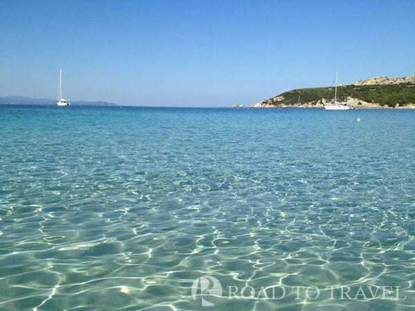 Sardinia beaches White send beach near Santa Teresa di Gallura.