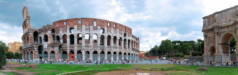 rome in 7 days road to italy